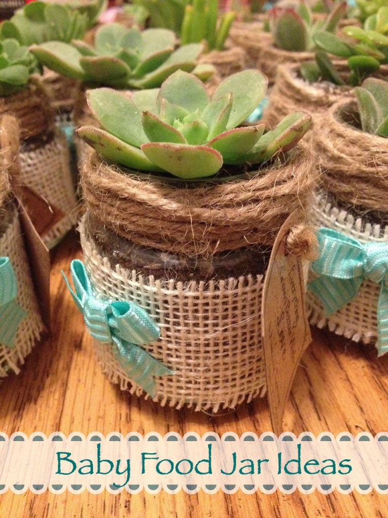 Have a new baby at home and extra jars? Get Crafty with these DIY Baby Food Jar Ideas Including Gifts and Ideas for Kids | Recycle | Upcycle