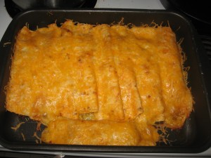 Ground Turkey Enchilada recipe
