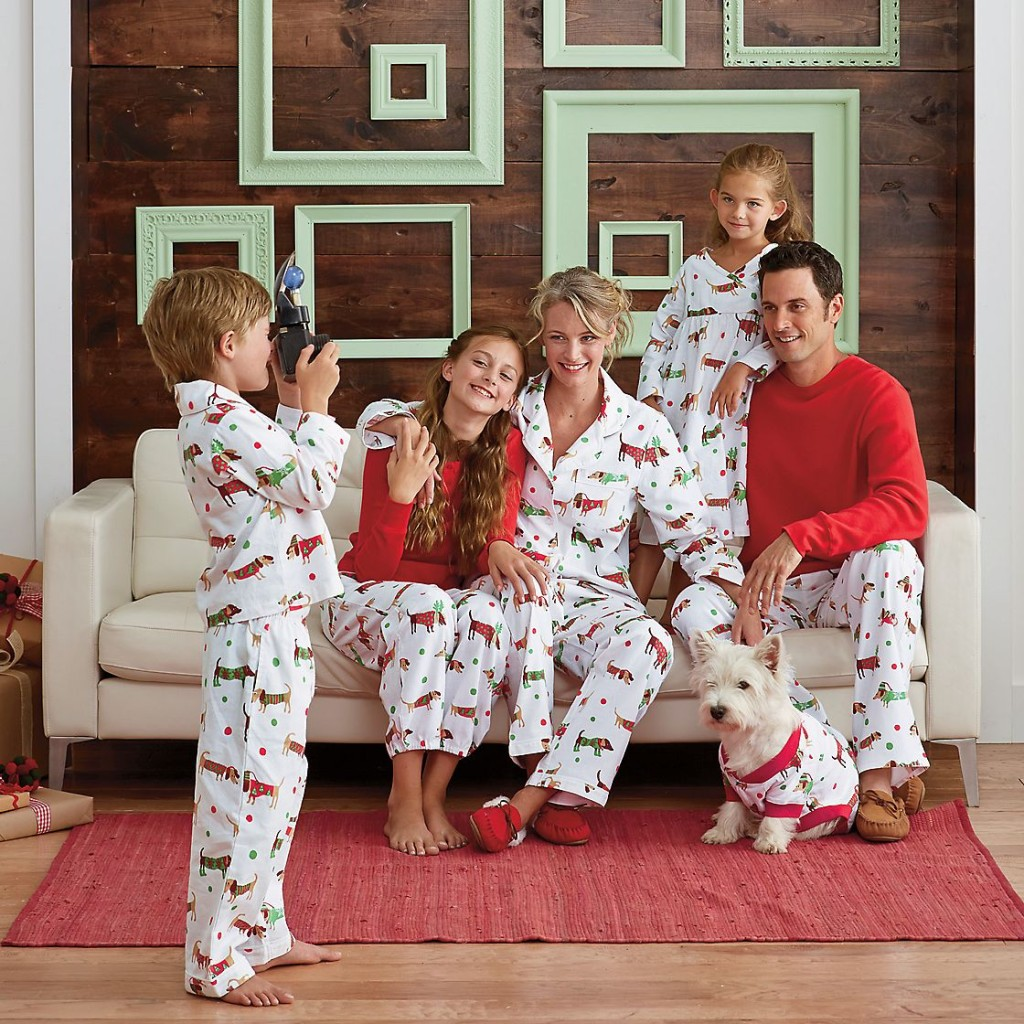 Purchasing matching pajamas for the entire family can be quite costly, especially if you're part of a big group. The price on these pajamas keep things affordable, ranging from $14 – $
