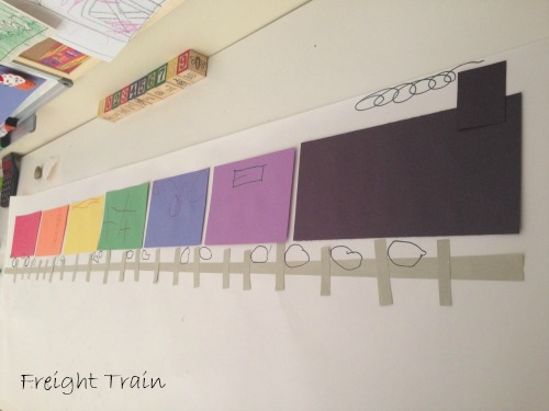 Preschool Story and Craft Ideas Freight Train