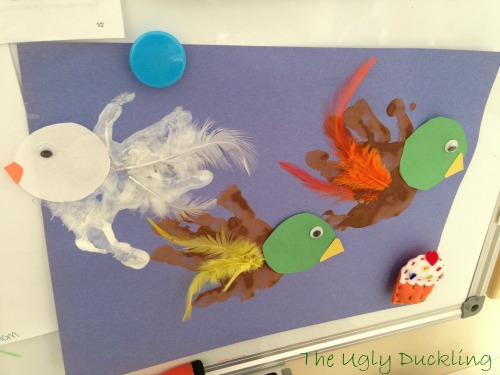 Preschool Story and Craft Ideas Ugly Duckling