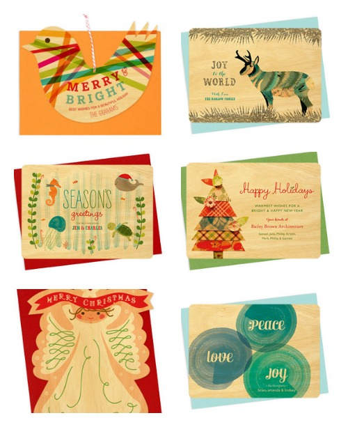 Night Owl Paper Goods Holiday Cards