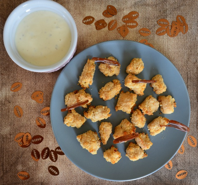 Chicken Ranch Bites made with just 3 ingredients. Perfect for an appetizer, snack or family meal.