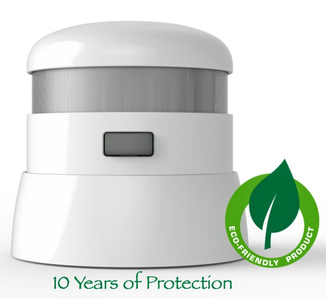 First Alert 10 Years of Protection Atom Alarm