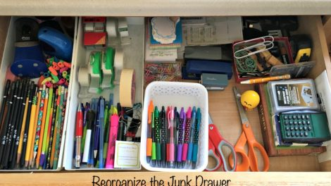 Reorganize the Junk Drawer