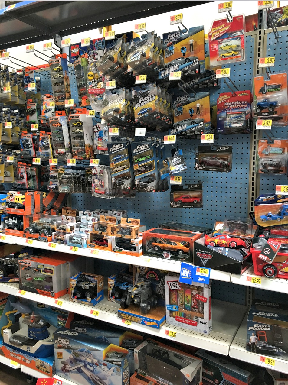 Fast & Furious Toys at Walmart