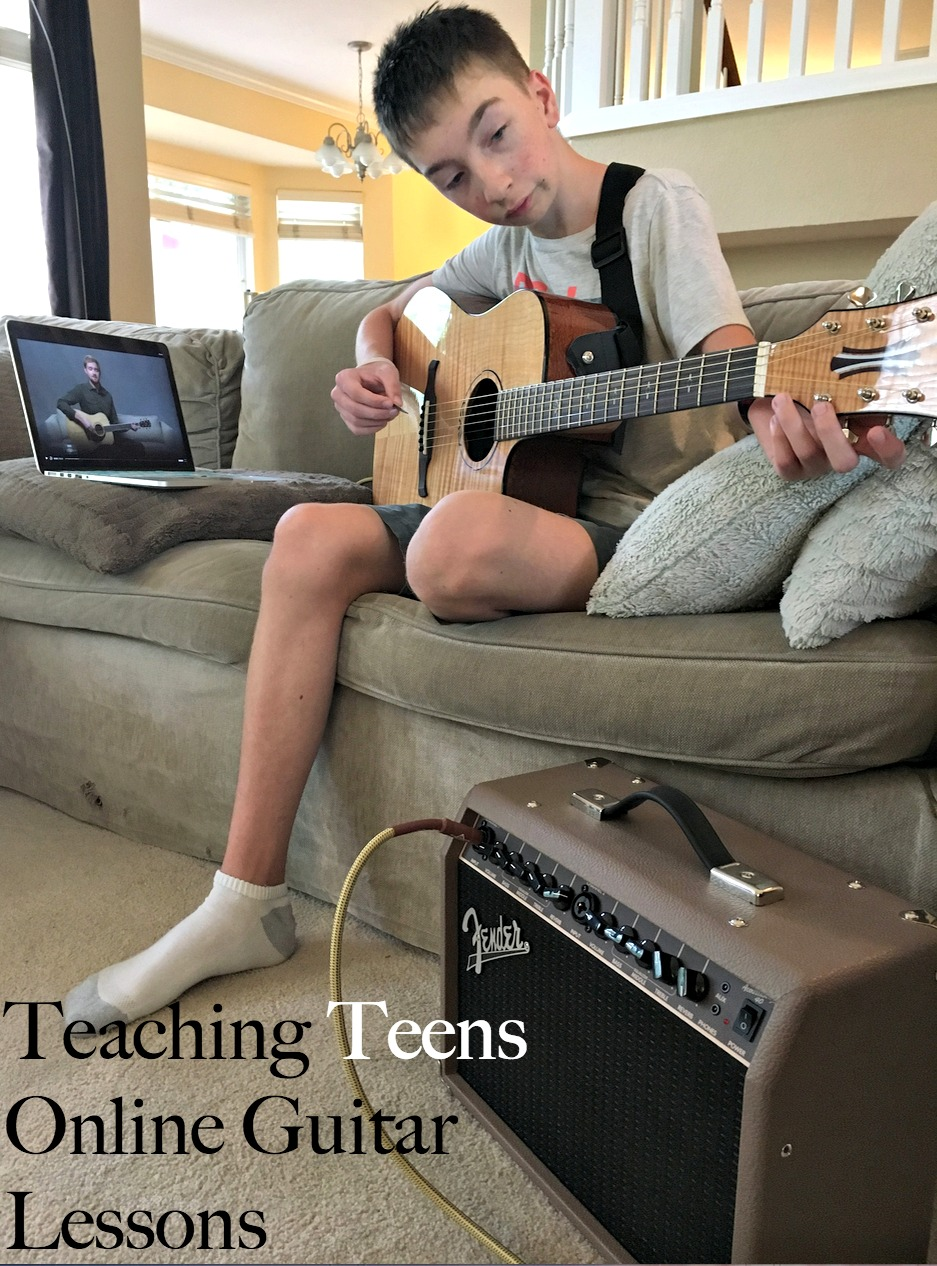 Teaching Teens Online Guitar Lessons