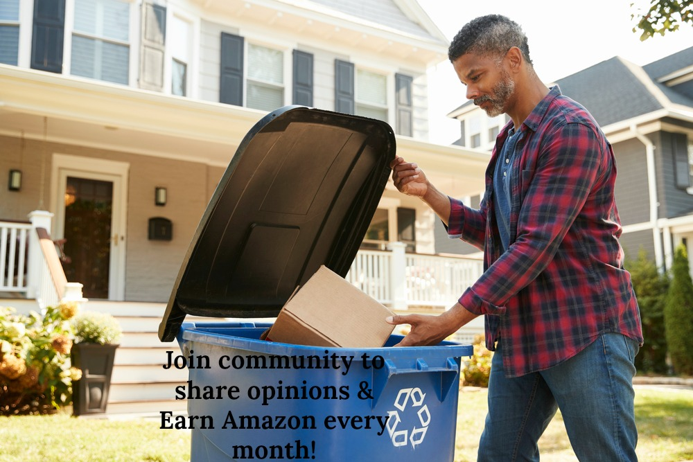 Join community to earn Amazon every month