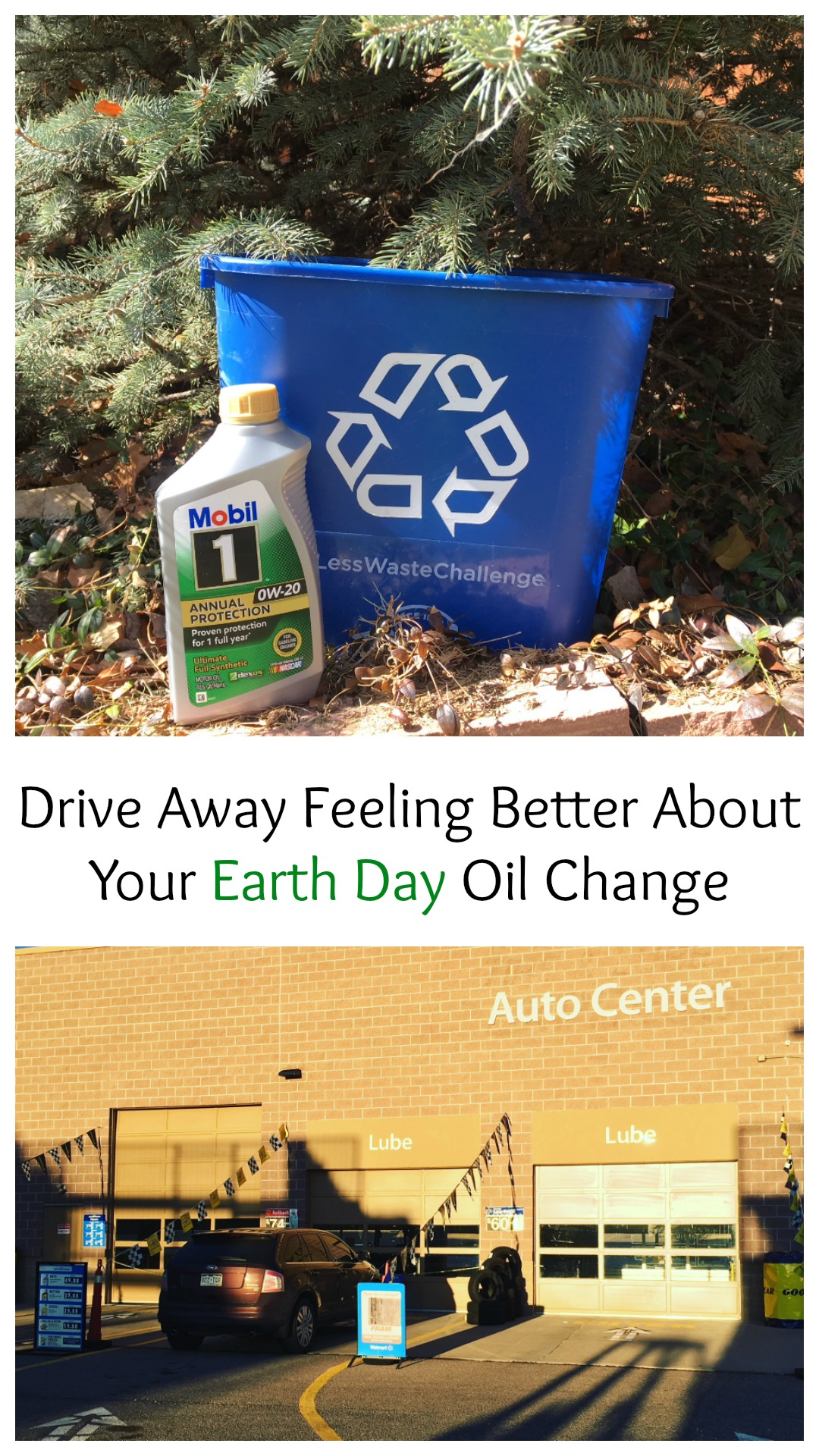 Drive Away Feeling Better About Your Earth Day Oil Change