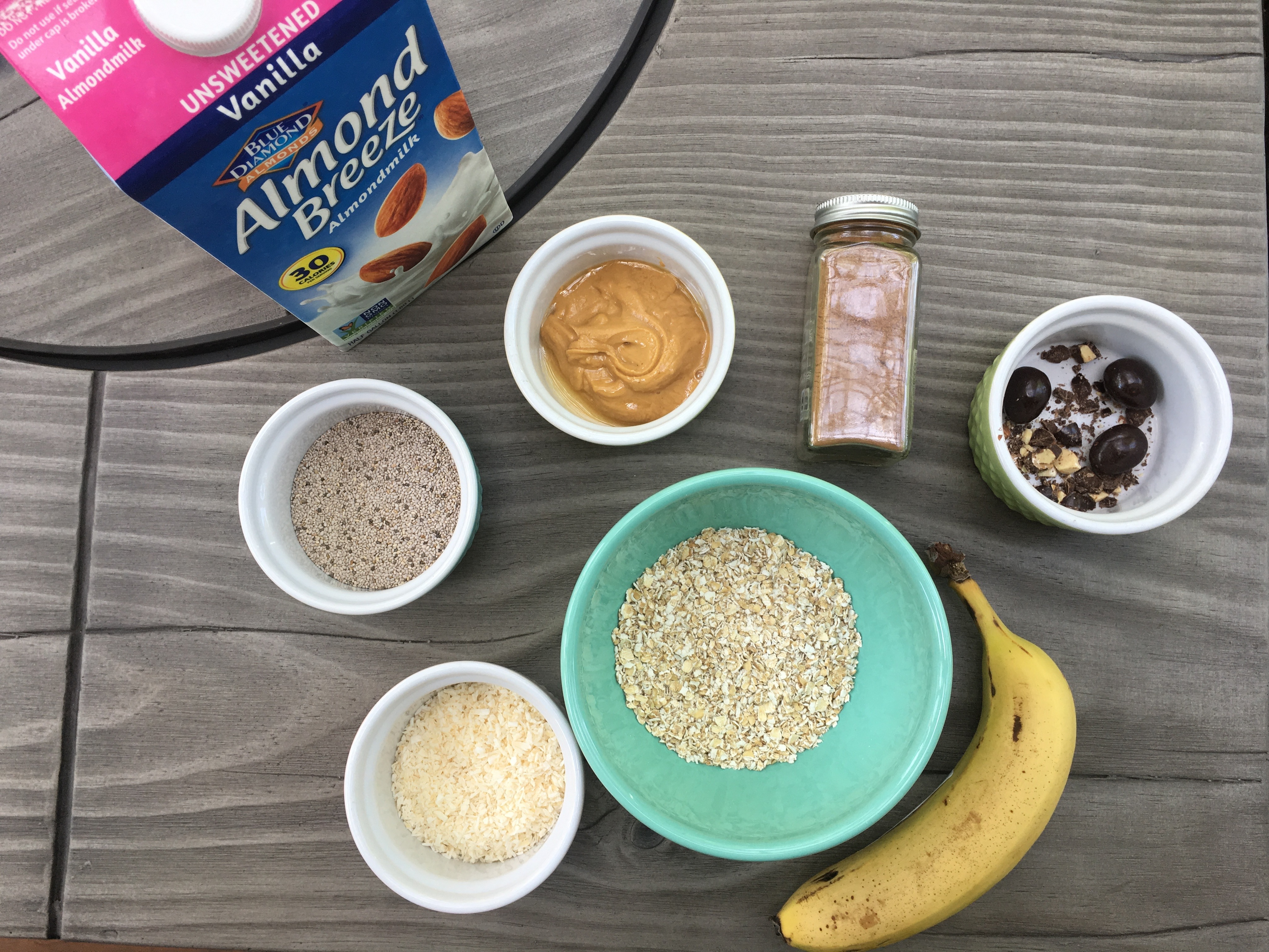 Quick Oatmeal Bowls