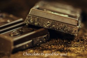 Chocolate IS good for you! Here's why.