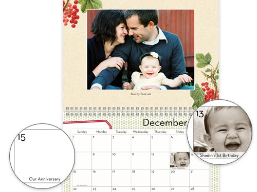 Shutterfly Calendar Ideas : My shutterfly photo event giveaway cardworthy