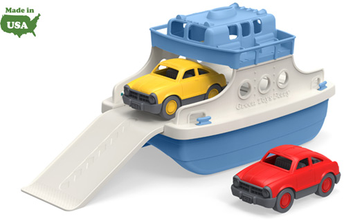 Green Toys Ferry Boat made with Recycled Plastic