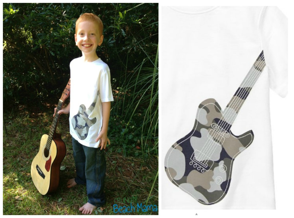 Gymboree Guitar Collage