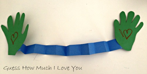 Preschool Story and Craft Ideas Guess How Much I Love You