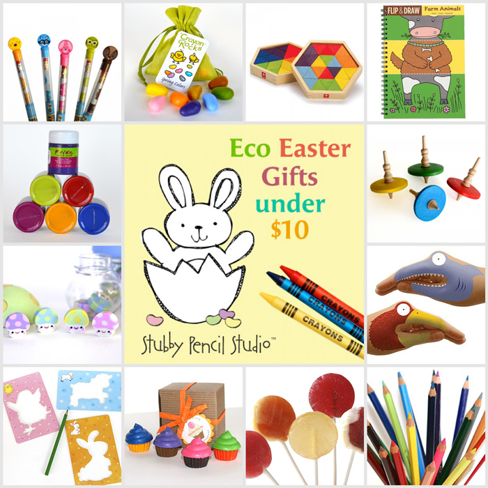 Stubby Pencil eco-easter-gifts-for-kids