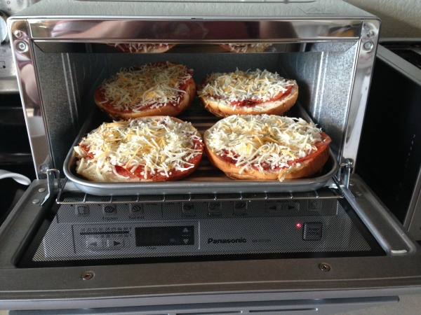 Cooks Illustrated Countertop Convection Oven : ... toaster over to TOAST the bagels, but we took it a step further to