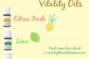 Young Living Vitality Essential Oils Lime, Orange, Citrus Fresh