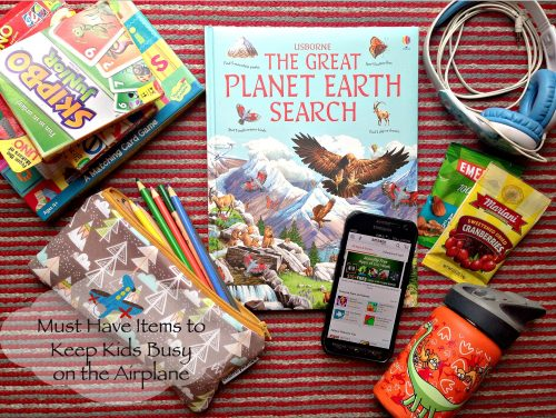 Must Have Items to Keep Kids Busy on the Airplane
