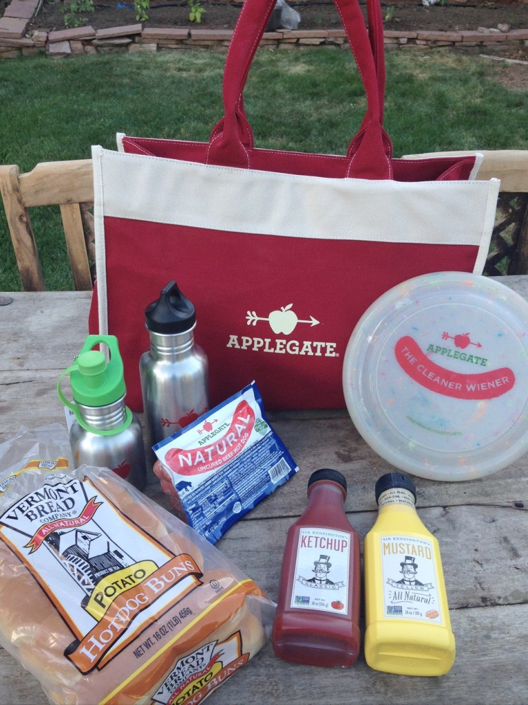 Applegate Get Out on Grass Hot Dog