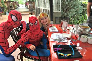 Superhero Sundays at The Melting Pot