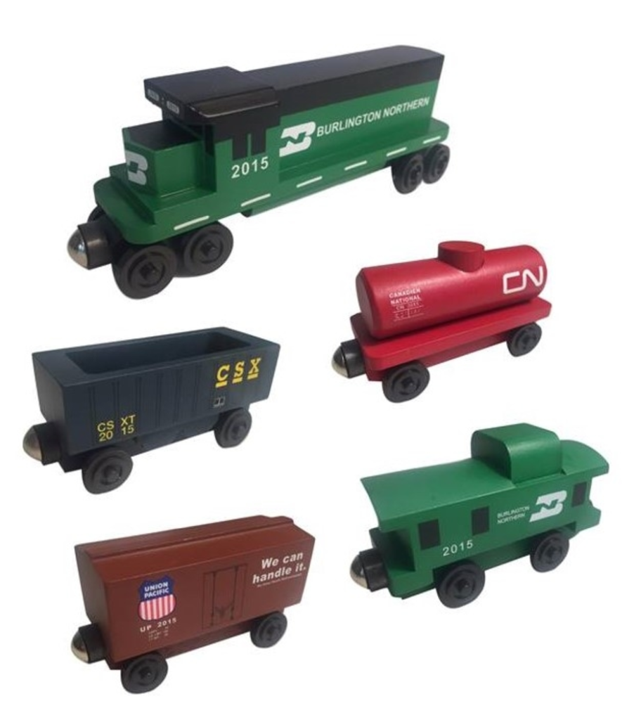 Gifts for Kids Wooden Railroad
