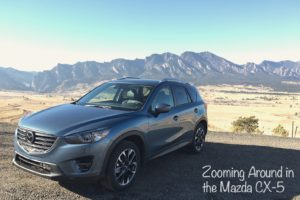 Zooming Around in the Mazda CX-5
