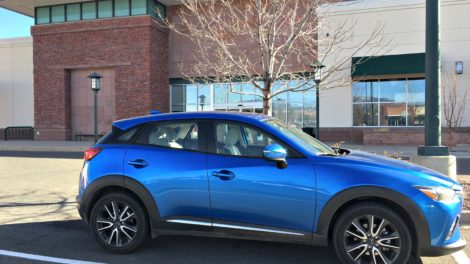 Commuting to Work in the Mazda CX-3
