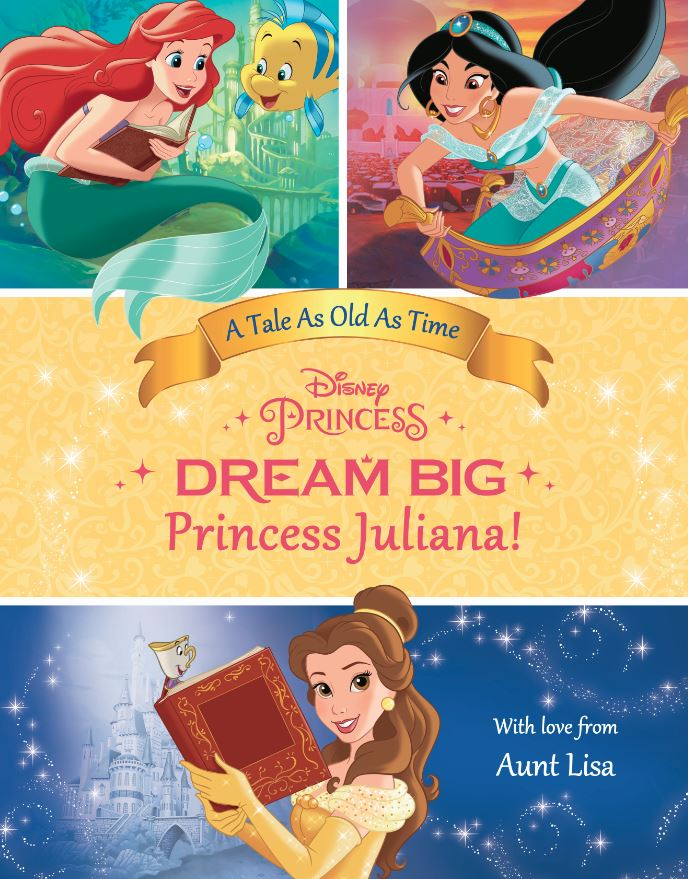 Personalized Princess Book Dream Big Princess: Belle's Special Edition