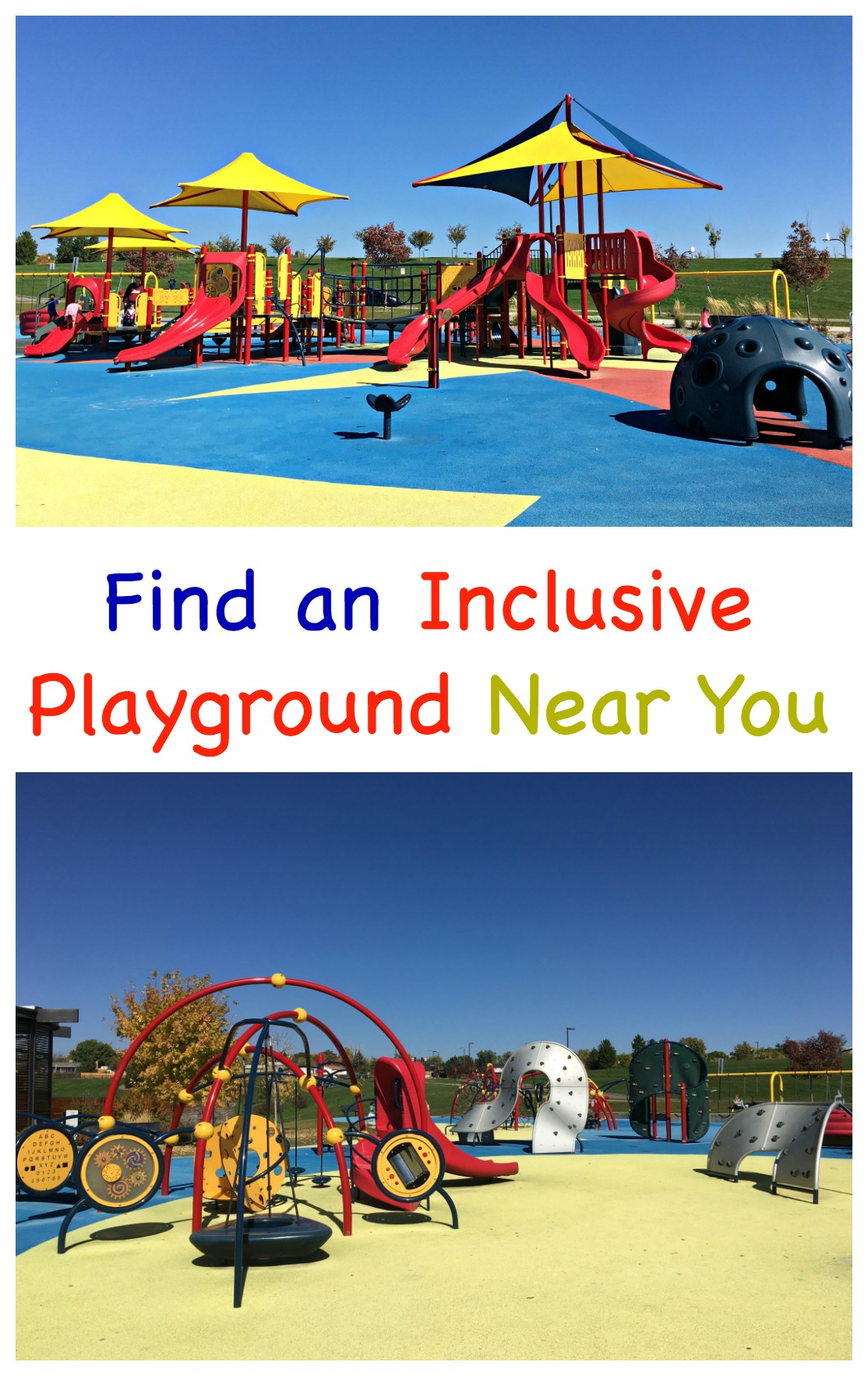 Find an inclusive playground near you.